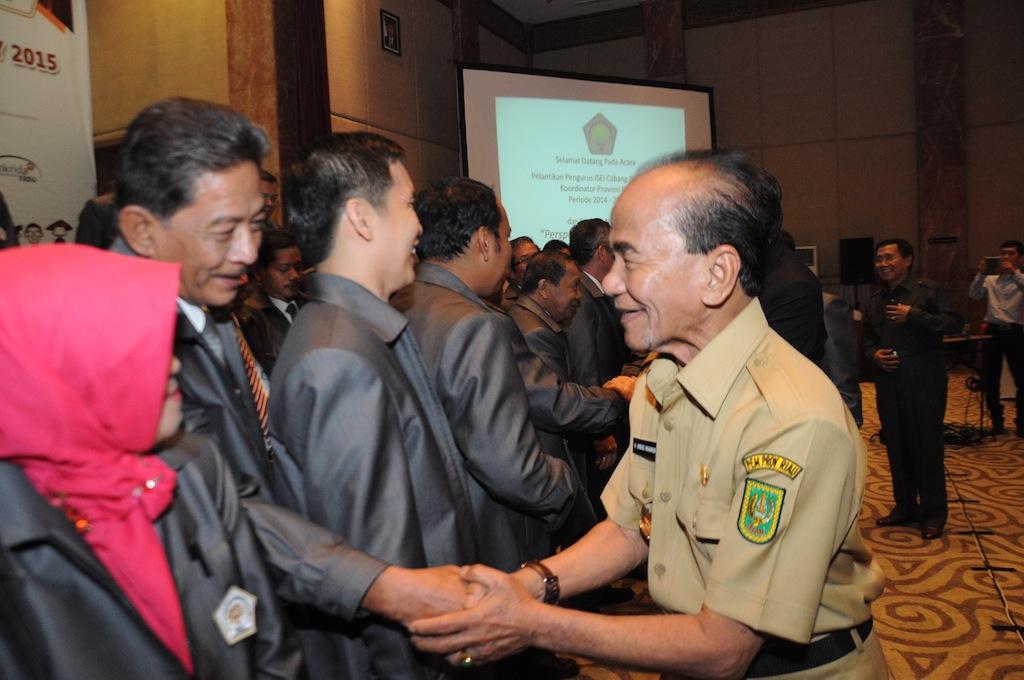 Permalink ke Galeri: Gubernur Riau Menghadiri Pelantikan Pengurus ISEI Pekanbaru