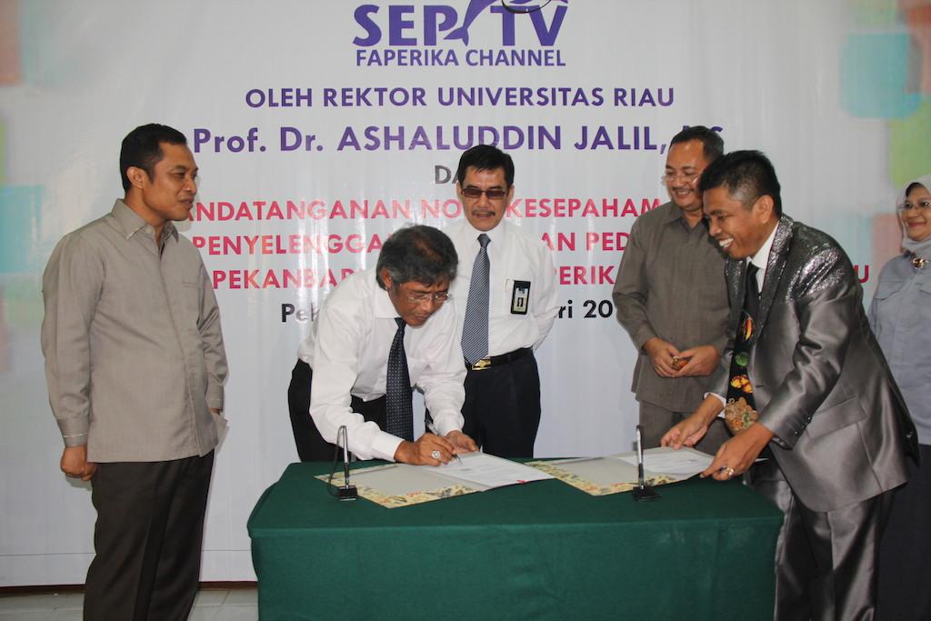 Permalink ke Faperika UR Launching SEPTV