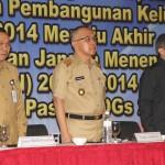 Wagubri Membuka Rakerda Program Kependudukan & KB 2014