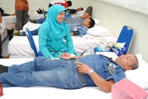 CPI Gelar Donor Darah di Duri