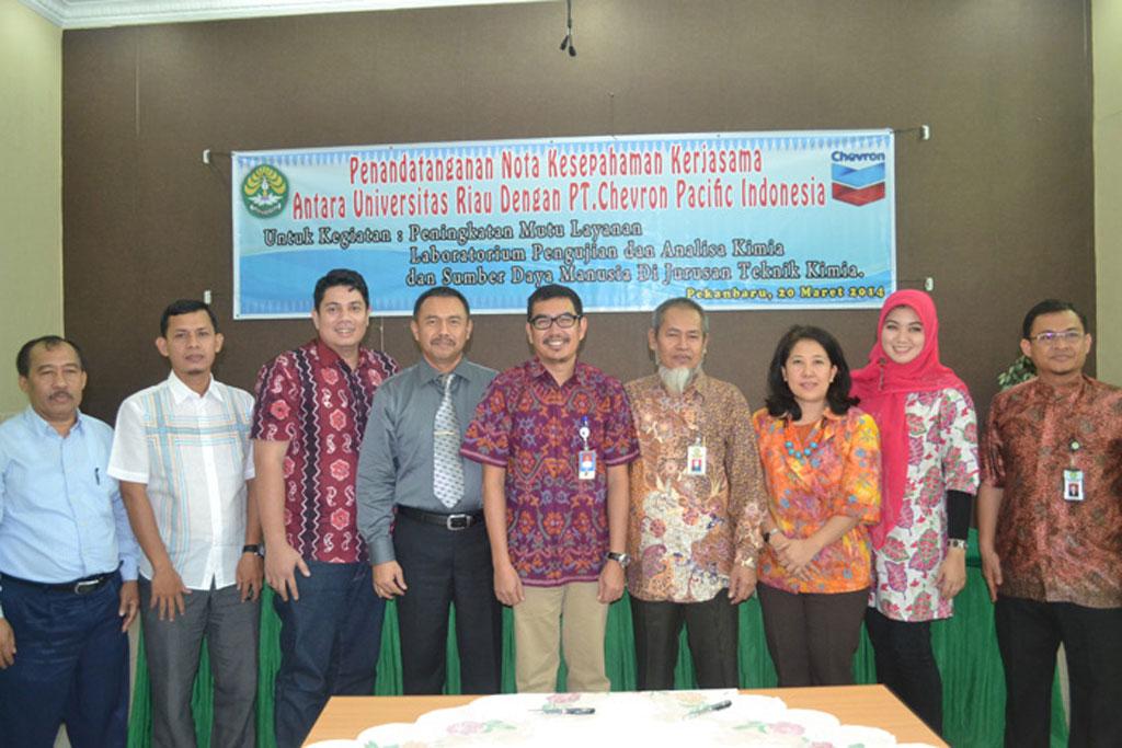 Permalink ke Chevron Bantu Tingkatkan Akreditasi Perguruan Tinggi di Riau