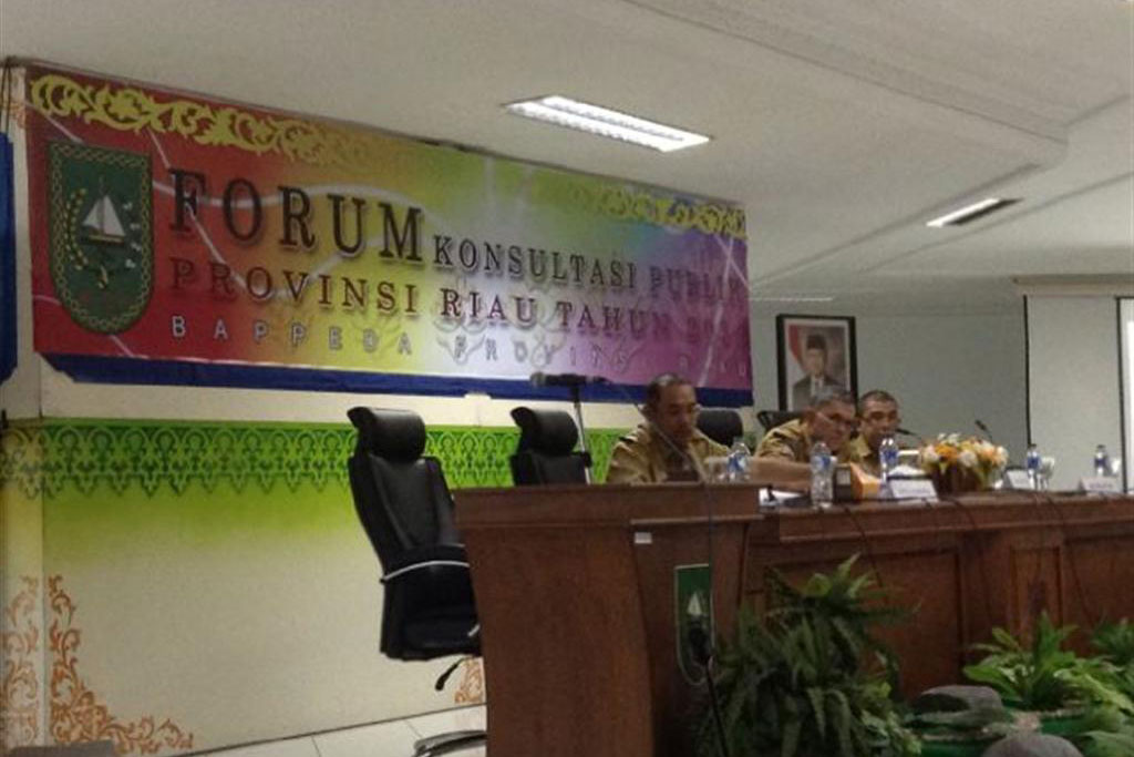 Permalink ke Bappeda Riau Bahas RPJMD Riau Libatkan Forum Konsultasi Publik