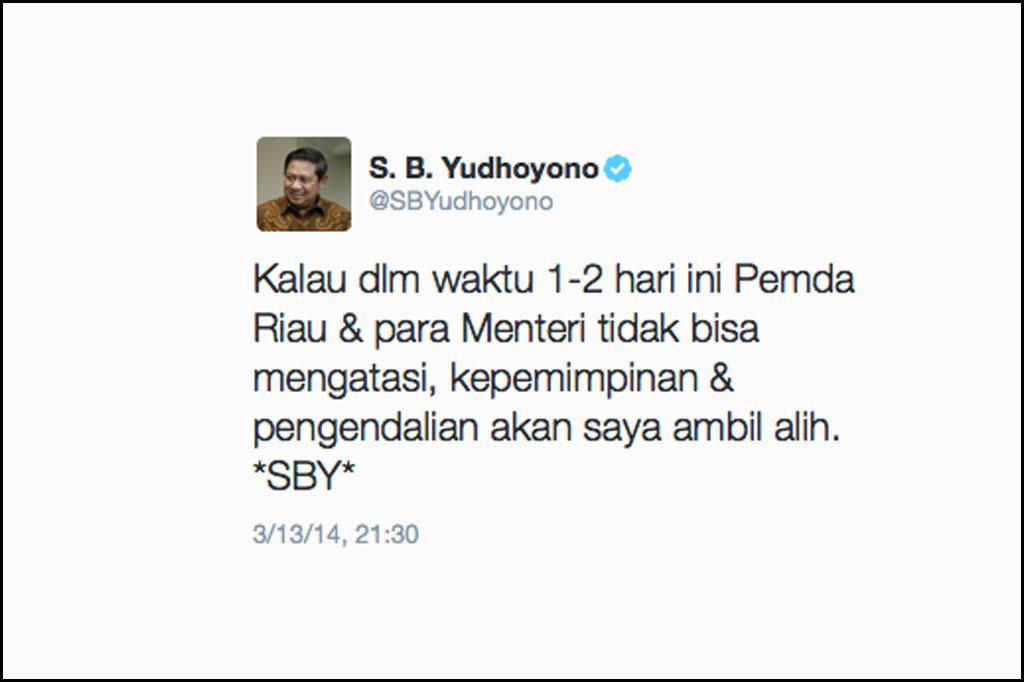 Permalink ke Akhirnya Presiden SBY Bereaksi