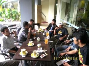 Mahasiswa Teluk Meranti dan IPMPB