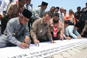 Bengkalis Dukung Pembentukan RUU Pendidikan Kepramukaan