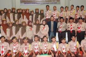 Ibu Gubernur Riau sebagai Ketua Kwarda 04 prov Riau, menghadiri Musyawarah Rencana (Musren) SUSKA ETRIDA XV Gerakan Pramuka Gugus Depan Kota Pekanbaru 06010602. Musren tersebut sekaligus dikemas dengan peringatan maulid Nabi Muhammad SAW 2010.