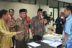 Permalink ke Galeri Sidak dan Halal bi Halal Pemprov Riau
