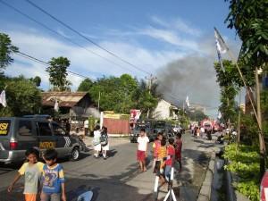 Permalink ke Lima Petak Rumah di Jalan Kuantan Raya Ludes Terbakar