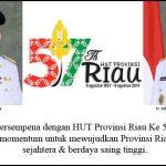 Mari Bersatu Membangun Riau