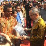 Wagubri, Wako Pekanbaru dan Kadis Koperasi Prov Riau Hadiri Hari Koperasi ke 67 Tahun 2014