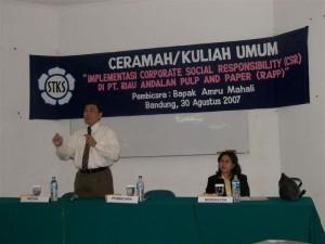 Permalink ke Riaupulp Gelar Kuliah Umum dan Silaturahmi Dengan Mahasiswa Riau di Bandung