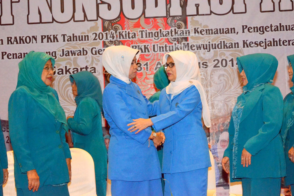 Permalink ke Foto Bersama Ketua TP PKK Pusat dengan TP PKK Provinsi Riau
