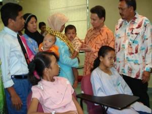 Permalink ke Operasi Sukses, 4 Penderita Bibir Sumbing di Kelantan Kembali ke Riau