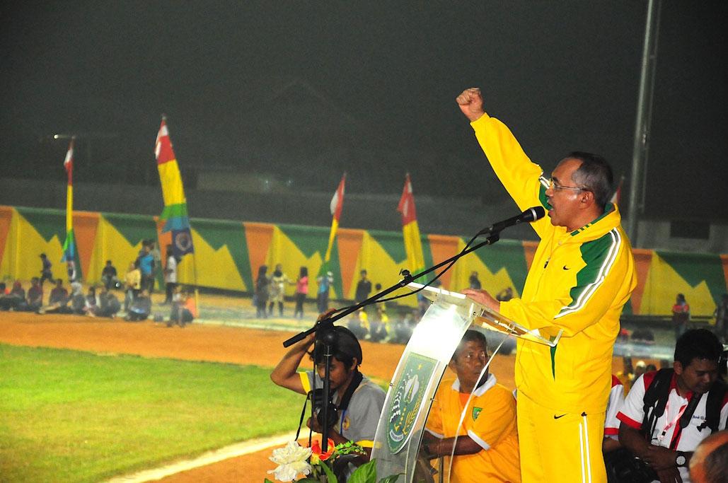Plt Gubri Buka Pekan Olahraga Provinsi Riau ke- VIII