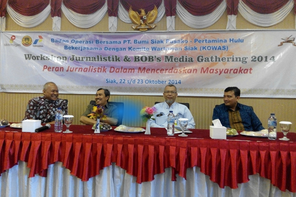 Workshop Jurnalistik dan Media Gathering 2014