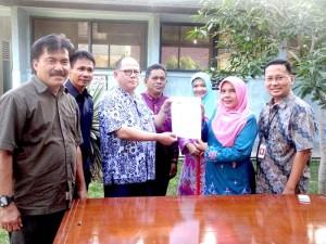 CPI Bantu Fasilitas Pendidikan kepada SMAN 3 Pekanbaru