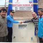 CPI Serahterimakan Sumur Artesis untuk Masyarakat