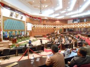 Rapat DPRD Riau