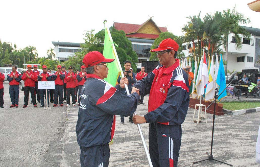 Permalink ke Pelepasan Kontingen Riau Untuk PON Remaja I di Surabaya