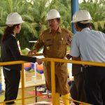 Peresmian PDAM Unit Rupat