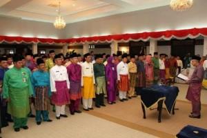 61 pejabat Riau Dilantik