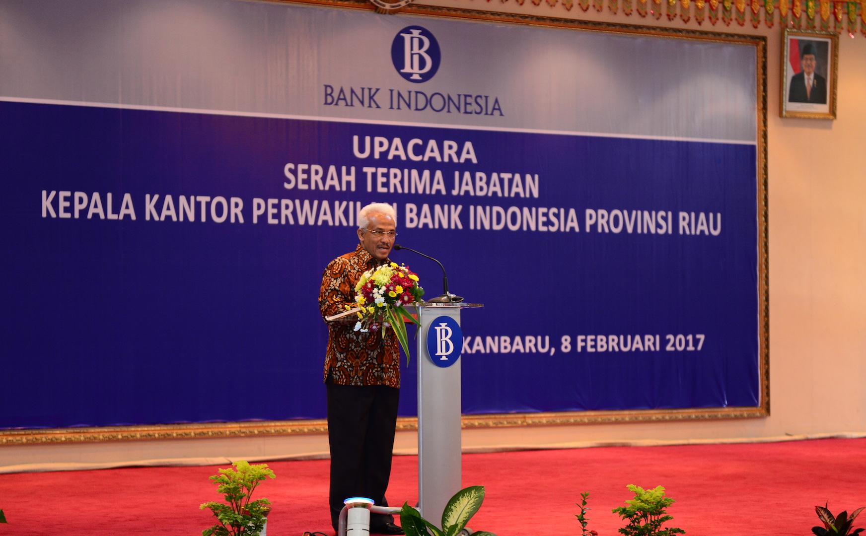 Permalink ke Sertijab Kepala Kantor Perwakilan Bank Indonesia Provinsi Riau