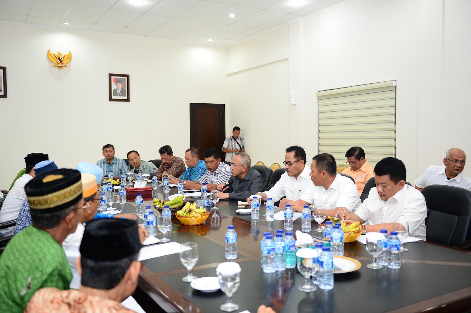 Permalink ke Gubri Pimpin Rapat Forkompimda dan MUI Riau