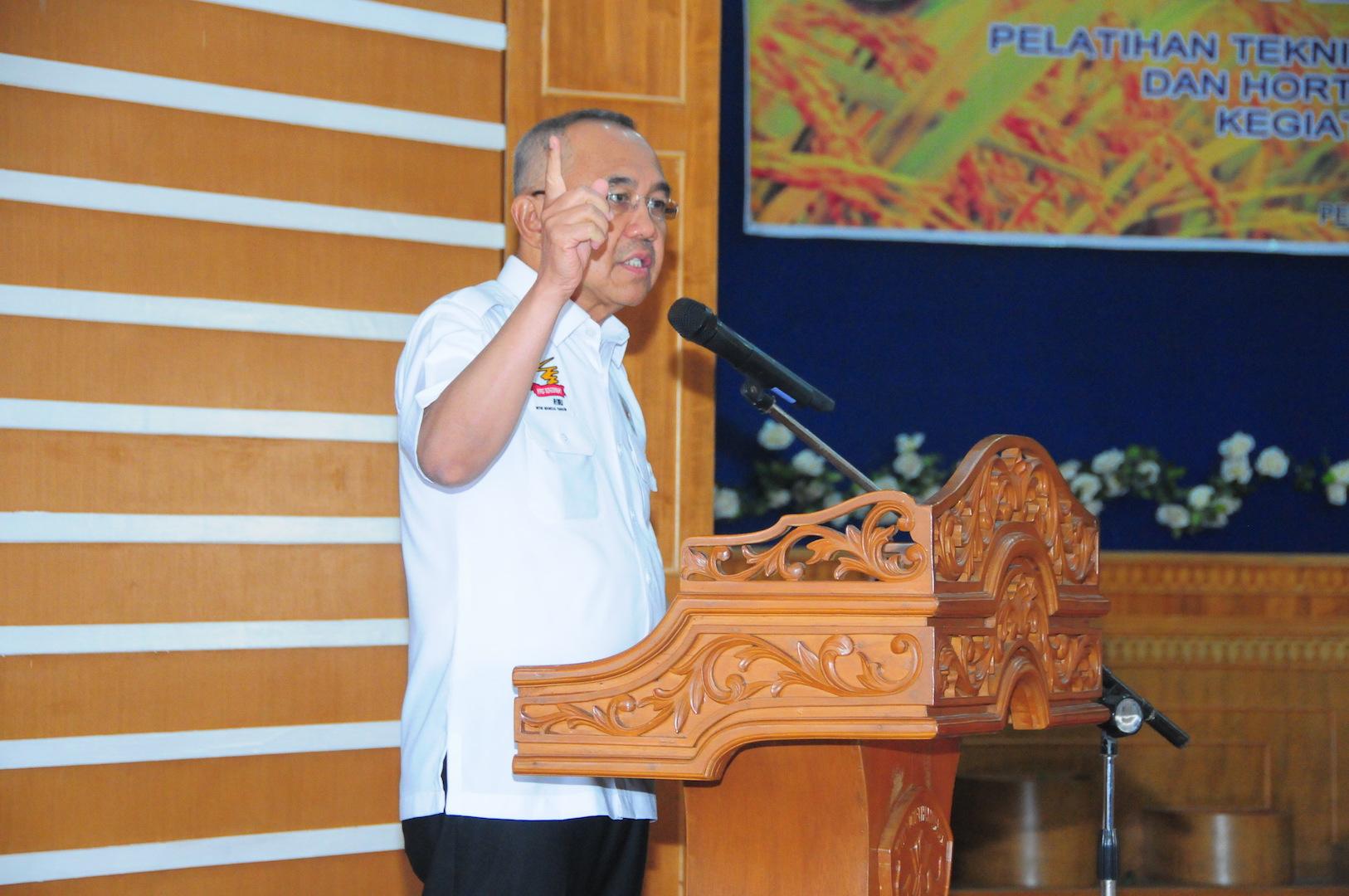 Permalink ke Gubri membuka Pelatihan Teknis Budidaya Tanaman Pangan Dan Hortikultura