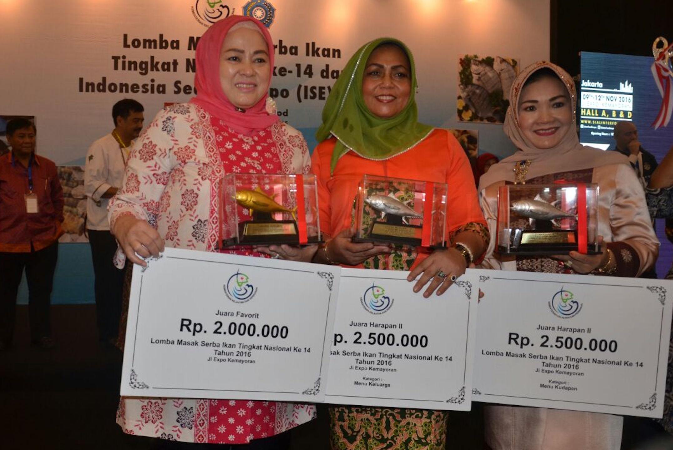 Permalink ke Riau juara favorit Lomba Masak Ikan Tingkat Nasional