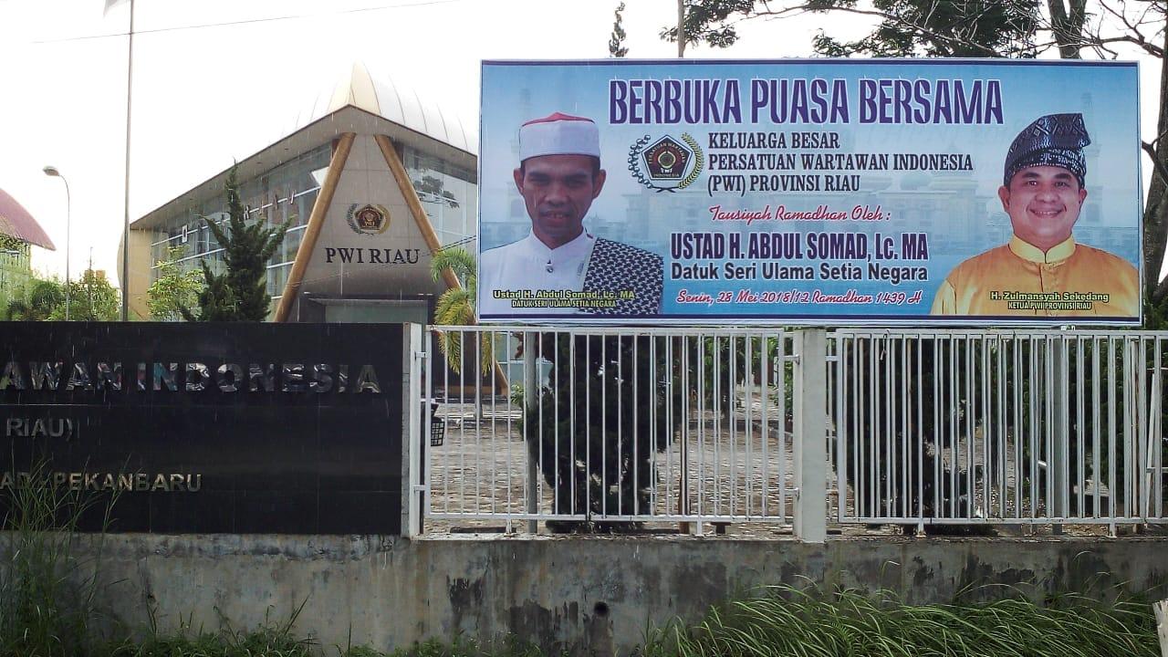Permalink ke Besok, Ustadz Abdul Somad Beri Tausiah Buka Bersama PWI Riau