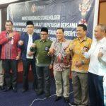 Mappilu PWI Riau Hadiri Rakor Pemilu, Rusidi: Bawaslu Tidak Bisa Kerja Sendiri