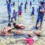 Tradisi Mancing Snap Mor Jadi Daya Tarik Festival Biak Nynara Wampasi 2019