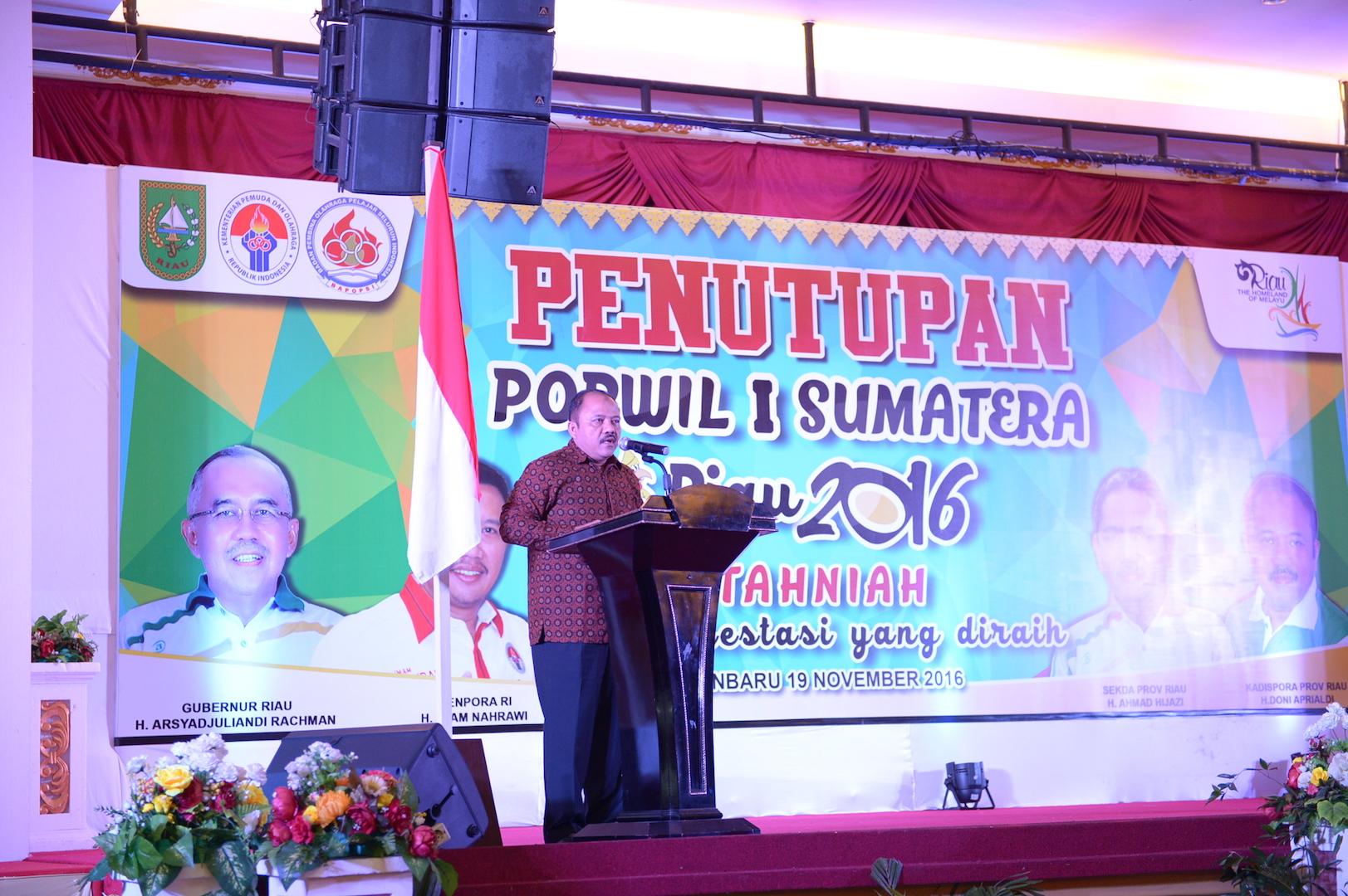 Permalink ke Penutupan Popwil I Sumatra Riau 2016