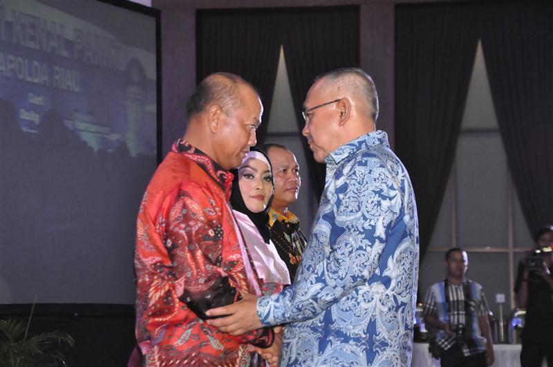 Malam Kenal Pamit Kapolda Riau4