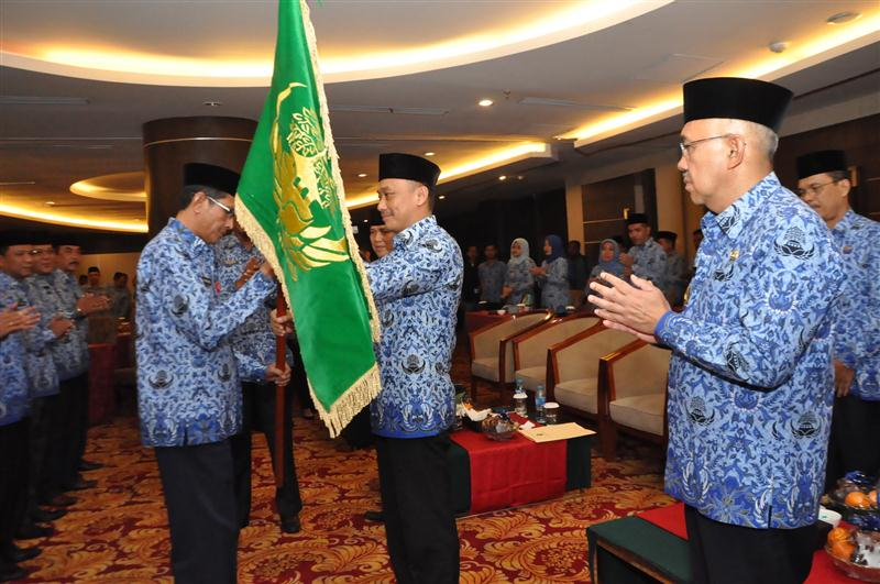 Pengukuhan Pengurus KORPRI Riau 4