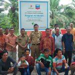 Empat Kabupaten di Riau Dapat Bantuan Fasilitas Air Bersih dari Chevron