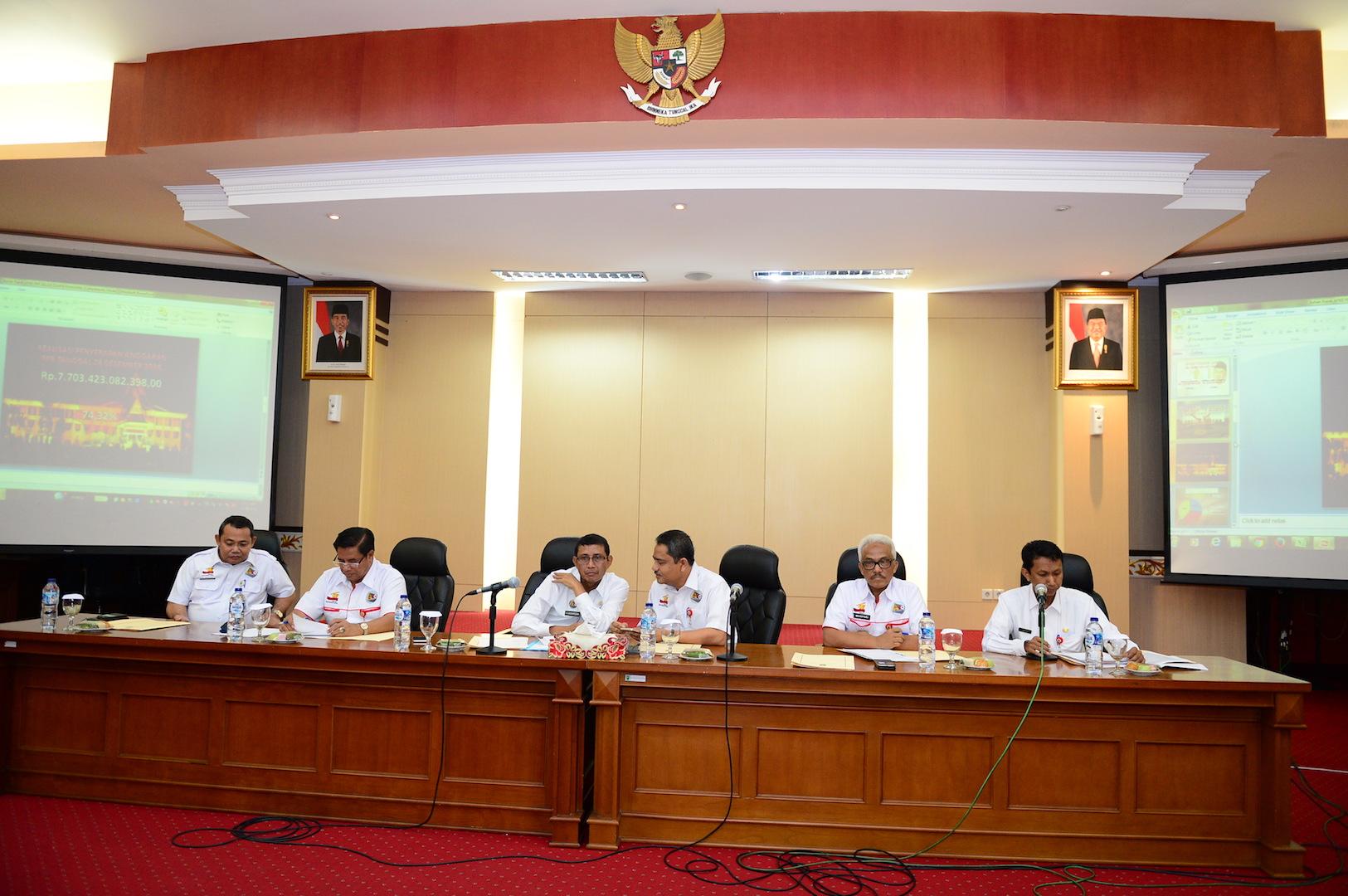 Permalink ke Rapat Realisasi Fisik dan Keuangan Pemprov Riau T.A 2016