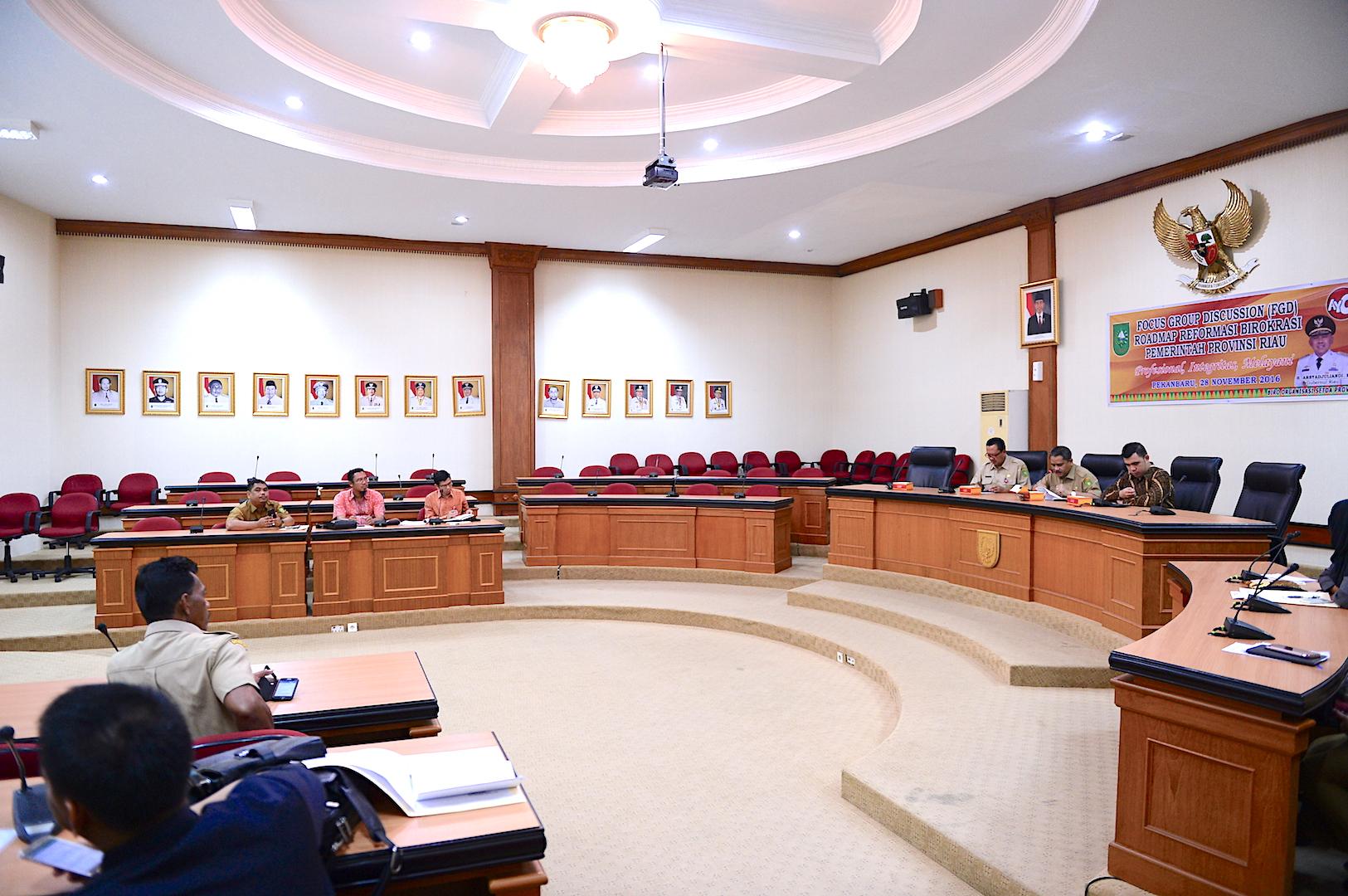 Permalink ke Sekda Prov Riau Buka FGD Roadmap Reformasi Birokrasi Pemerintah Provinsi Riau