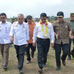 Kunker Menteri Pertanian RI Amran Sulaiman di Desa sei Galuh