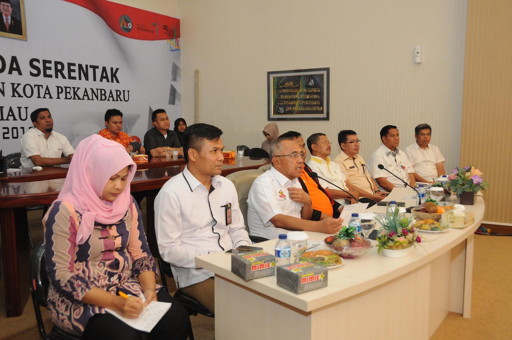 Permalink ke Telekonference Pilkada Serentak Kab Kampar dan Kota Pekanbaru Provinsi Riau