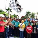 Gubri Melepas Jalan santai Riau Pustaka Lingkungan Dunia