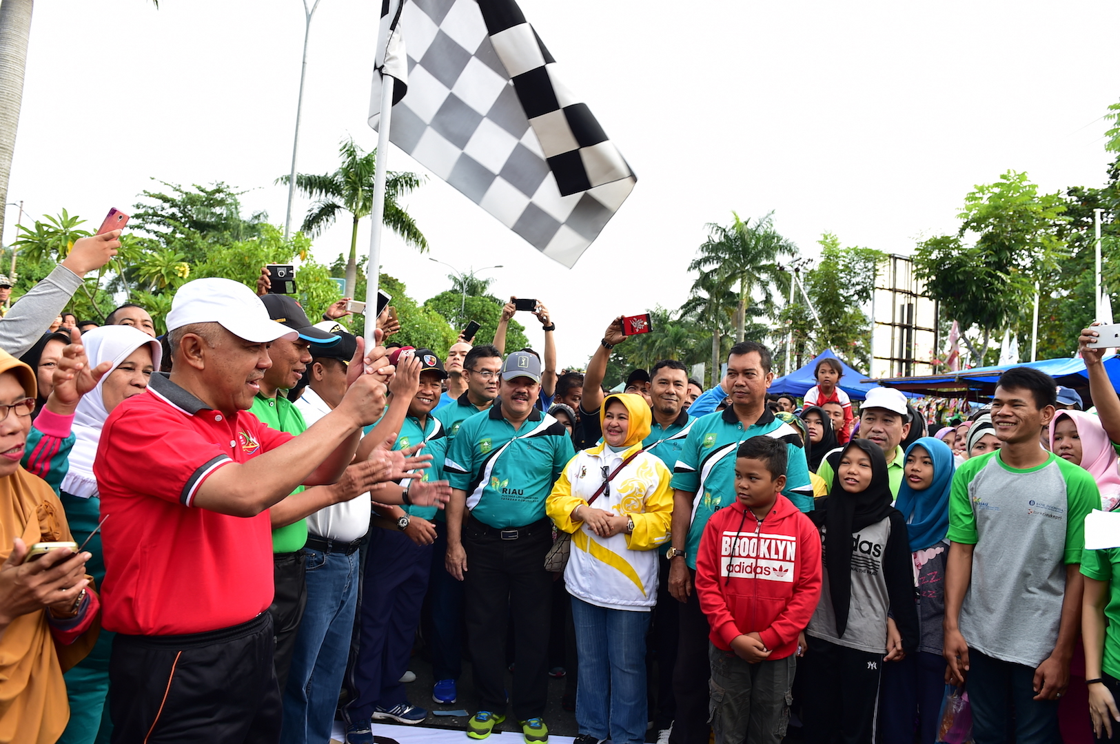Permalink ke Gubri Melepas Jalan santai Riau Pustaka Lingkungan Dunia