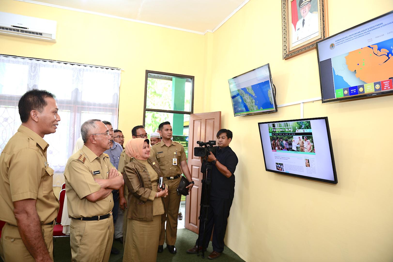 Permalink ke Peresmian Media Center Dinas Lingkungan Hidup dan Kehutanan Prov Riau