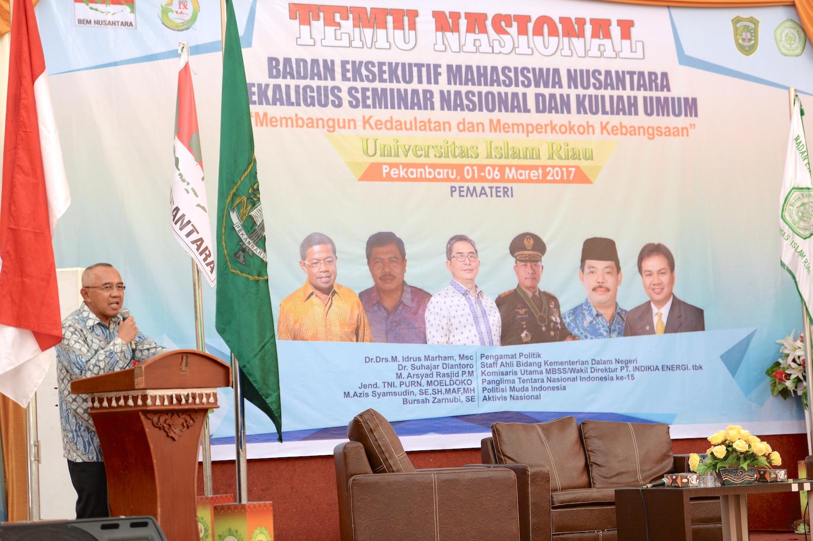 Permalink ke Gubri Hadiri Temu Nasional BEM Nusantara Sekaligus Seminar Nasional dan Kuliah Umum