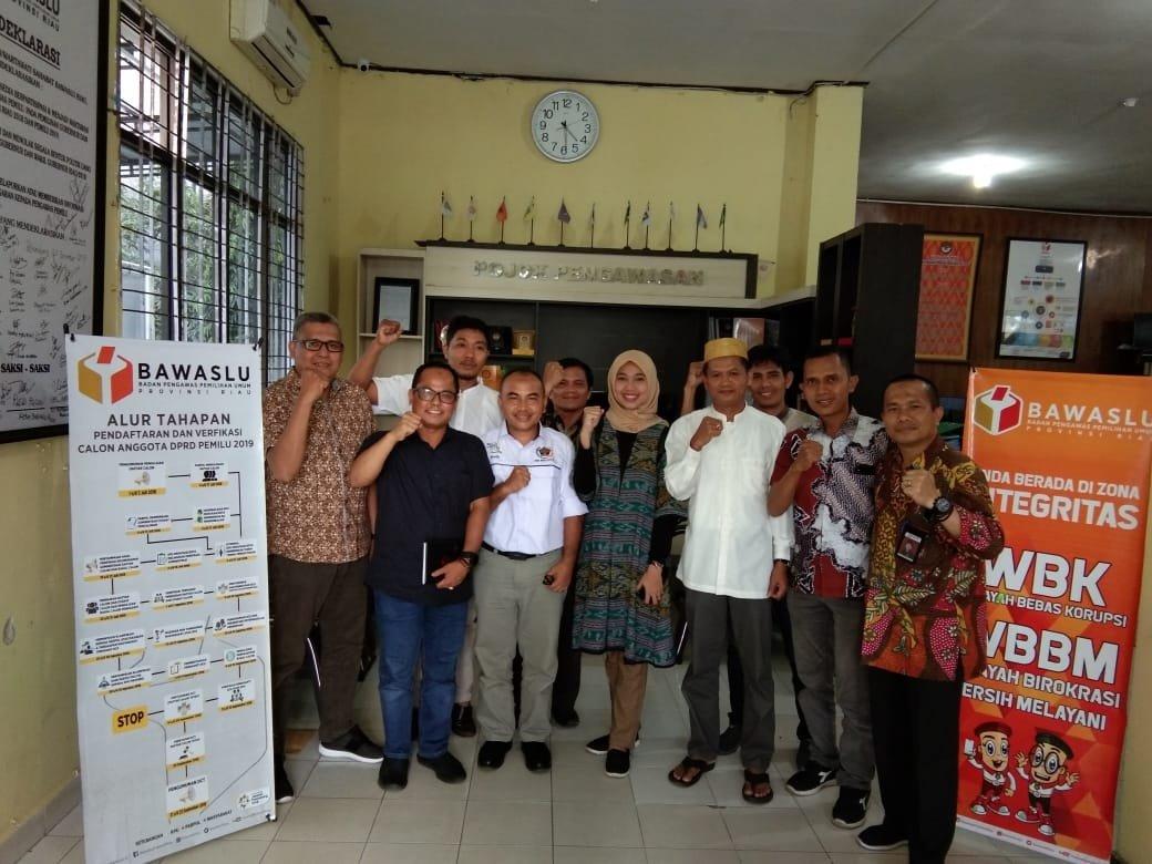 Permalink ke Bangun Sinergi Kawal Pemilu, Mappilu PWI Riau Gelar Pertemuan dengan Bawaslu