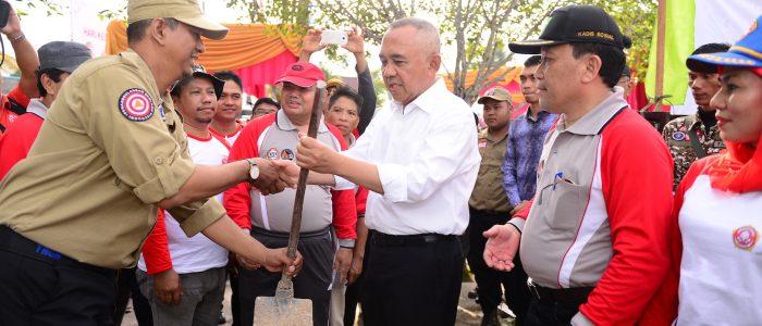 Gubri ikut berpartisipasi pada HKSN Provinsi Riau