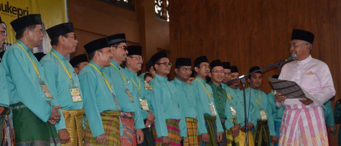 Gubri melantik pengurus Persatuan Masyarakat Riau Jakarta (PMRJ) periode 2016-2019