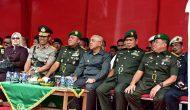 Permalink ke Gubri hadiri Upacara Serah Terima Jabatan Komandan Korem 031/Wirabima