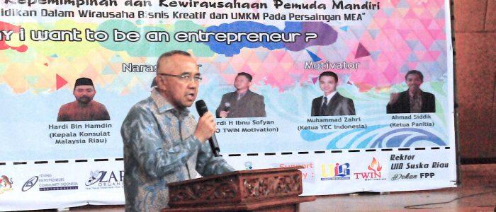 Seminar International dan Workshop Akademisi Kepemimpinan dan Kewirausahaan Pemuda Mandiri