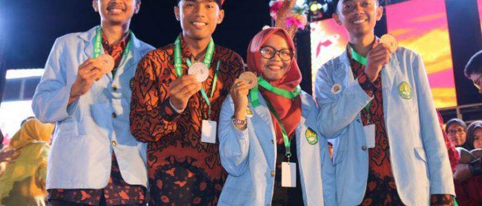 UR Sambet Dua Medali Perunggu di PIM Nasional 2017